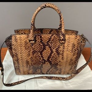 Michael Kors Python Handbag